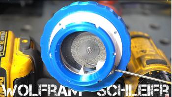 Wolfram Elektroden Schleifaufsatz 4.1