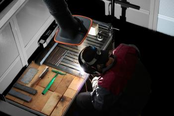 Stabile Profilstahlkonstruktion   TWT 600x600x800mm