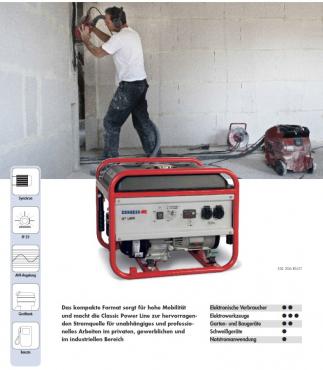 Stromerzeuger ESE 606 RS-GT - Endress Generator