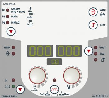 MIG MAG Inverter Taurus 355 Basic Synergic S HP LP TKW wasser