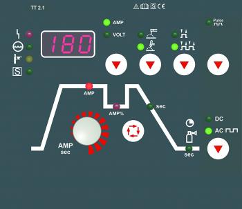 VISION SET Teamwelder TIG 180 AC/DC