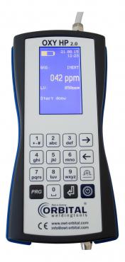 Restsauerstoffmessgerät Oxy HP 2.0 mit Dokumentation
