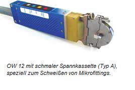 Mikroschweißkopf OW 12