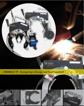 Offene Schweißzangen ORBIWELD TP 250