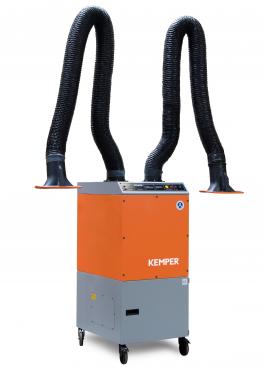 Kemper Absaugsystem Patronenfilter fahrbar