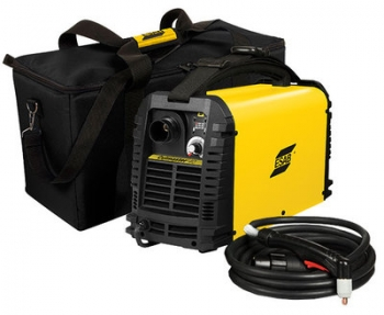 ESAB Plasmaschneider Cutmaster 40 + Kompressor