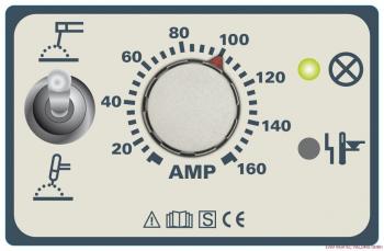 EWM Pico 162 Elektroden Inverter Schweißgerät