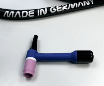 Brennerkörper WS 20 Wechselhals FLEX Kopf wassergekühlt blau