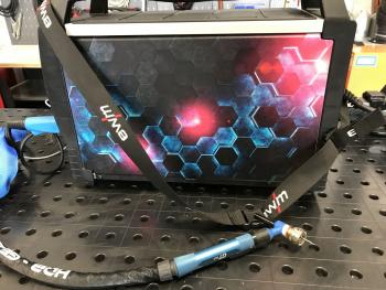 Future deep blue Design Tetrix + Picotig 200