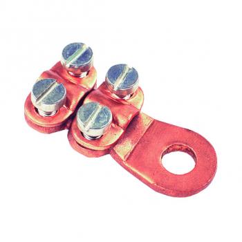 Schraubkabelschuhe mit 4 Schrauben 25 mm² - 35 mm² - 70 mm² - 95 mm²  SCL 50-70 mm² 10,5mm