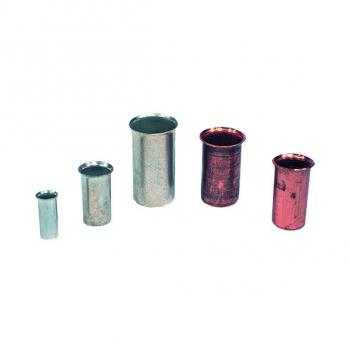 Kabelendhülsen in verschiedenen Ausführungen 10 mm² - 25 mm² - 95 mm² - 120 mm²  CS CU  35-50 mm²