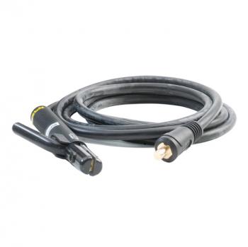 Komplett montierter Elektrodenhalter mit Kabel 25 mm²/4m/9mm Dorn