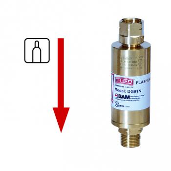Sicherheitseinrichtung für hohe Gasentnahmen  DG91N