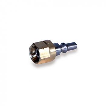 Kupplungsstift zum Anbau an Verbrauchsgeräte G1/4 RH - G3/8 RH  D1