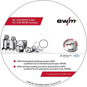 EN 1090 EWM-WPQR CD-ROM