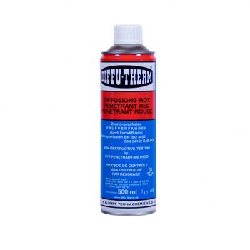 Abwaschbares, rotes Eindringmittel  BDR-L