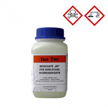 Beizpaste zum Entfernen von Anlauffarben im Bereich von Schweißnähten und Wärmeeinflusszonen  InoTec BP RS 2 kg