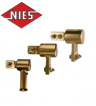 Robuste, drehbare Masseanschlüsse für Belastungen bis 2000 Ampere  NKK 800 A