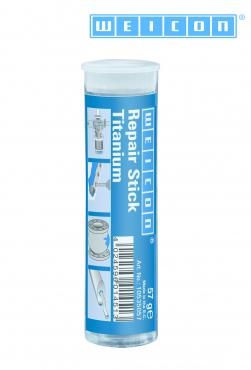 Verschleißfester, titaniumgefüllter Kleb- und Dichtstoff  Repair