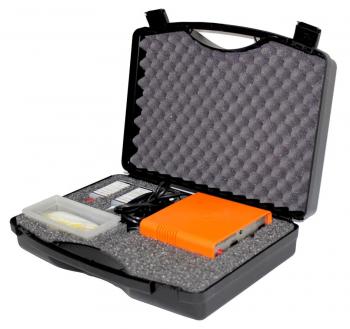 Kompaktes und leichtes Markierungsgerät   Cougartron MK12 Starte