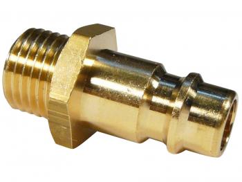 Universelle Einhand-Verschlusskupplung in einseitig absperrender Ausführung   NW 7.2 1/4 AG