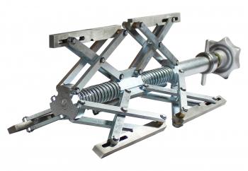 Manuelles Innenspannsystem, geeignet für das Schweißen von Flanschen an Rohre  IMC dm 180-520mm
