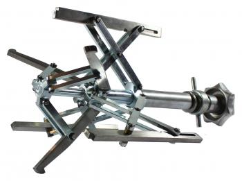 Manuelles Innenspannsystem, geeignet für das Spannen von Rohr-an-Flansch und Flansch-an-Bogen  IMF dm 120-315mm