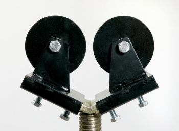 Kugel-& Rollenaufsätze für Rohrbock faltbar Stahlrollen SR