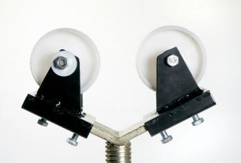 Kugel-& Rollenaufsätze für Rohrbock faltbar Polyethylenrollen PR