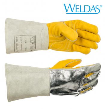 MIG/MAG-Schweißerhandschuh für Schweißarbeiten, bei denen mit hoher Kontakt- und Strahlungshitze zu rechnen ist L - XL  COMFOflex XL