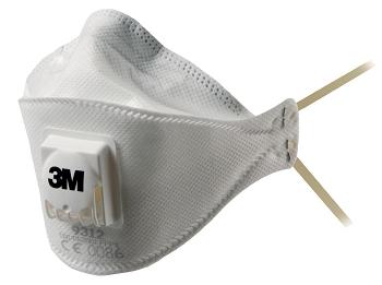 """Atemschutzmaske mit Cool-Flow Ausatemventil  3Mâ""""¢ Auraâ""""¢ FFP1"""