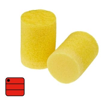 Gehörschutzstöpsel aus weichem, energieabsorbierendem Polymer-Sc