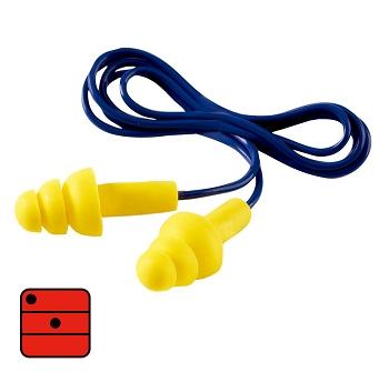 Vorgeformte Gehörschutzstöpsel mit Kordel und einzigartigem, pat