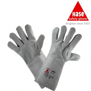 MIG/MAG-Schweißerhandschuh mit Spaltlederstulpe Größe: 10  Kairo