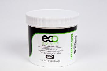 Einzigartiges Silberlot-Flussmittel, welches über eine Farbwechseltechnik verfügt, die anzeigt, wann gelötet werden muss  HARRIS Eco Smart®