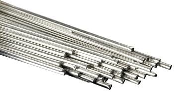 Silberhaltiges, kadmiumfreies Hartlot für Verbindungen von Kupfer- und Eisenwerkstoffen, Hartmetallen, Aluminiumbronze, Nickel und Nickellegierungen  HARRIS 34T (L-Ag34Sn) blank