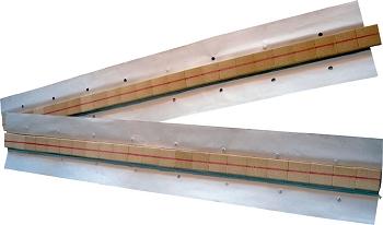 Keramische Badsicherung, rund  dm 9,5 mm x 600 mm