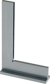 Winkel aus Stahl mit Anschlag  Winkel DIN875/I Schenkel-L.200x13
