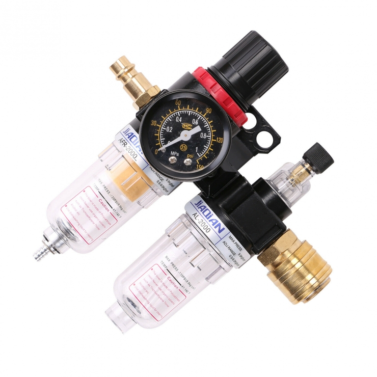1//2/'/' Druckluft Wasserfilter Feuchtigkeit Luftfilter Kompressor Wasserabscheid