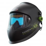 panoramaxx quattro Schweisshelm, schwarz, inkl. optrel IsoFit® headgear