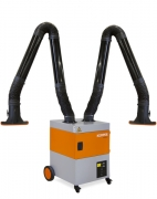 Kemper extraction system ProfiMaster - two extraction arms
