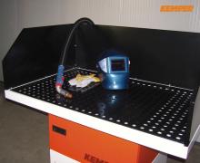 Kemper Schweißtisch mit Absaugung - Filter-Table
