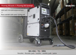 <b>HYDRA-SET PLUS</b> EWM Picomig 355 D3 Impuls + Wasserkühlung