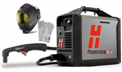 Hypertherm Powermax 45 XP Hand Plasma Cutting Machine incl. Burner 75 °