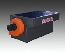 Ergonomisch angepasste, stabile Stahlblechkonstruktion   WT F 15