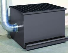 Ergonomisch angepasste, stabile Stahlblechkonstruktion   HPT 100