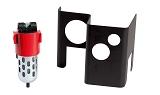Schutzgehäuse für Luftfilter  Luftfilter + Abdeckung