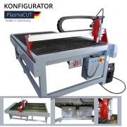 Plasmaschneidanlage CNC PlasmaCUT - Konfigurator