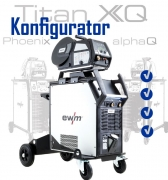Konfigurator ewm Titan XQ - konfigurieren Sie Ihre persönliche Schweißanlage