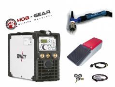 <b>HDB GEAR WIG SET</b> - EWM Picotig 200 DC PULS Schweißgerät